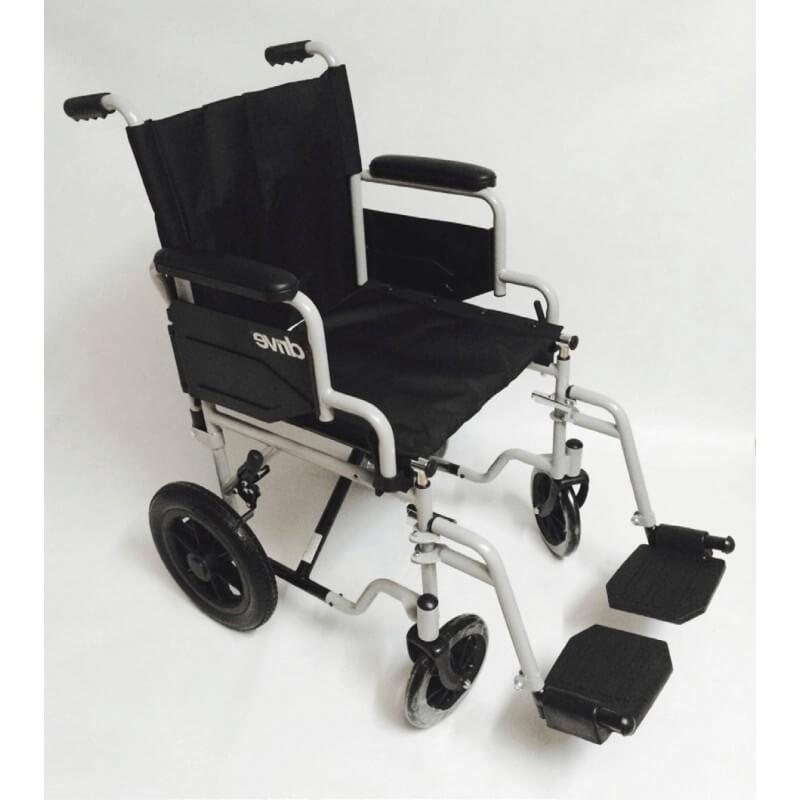 Silla de ruedas de traslado econ mica b sica - Sillas de ruedas de traslado ...