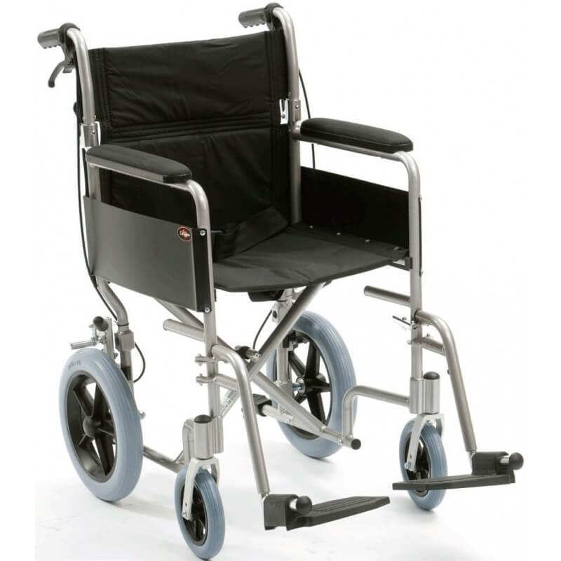 Silla de ruedas de traslado en aluminio - Sillas de ruedas de traslado ...