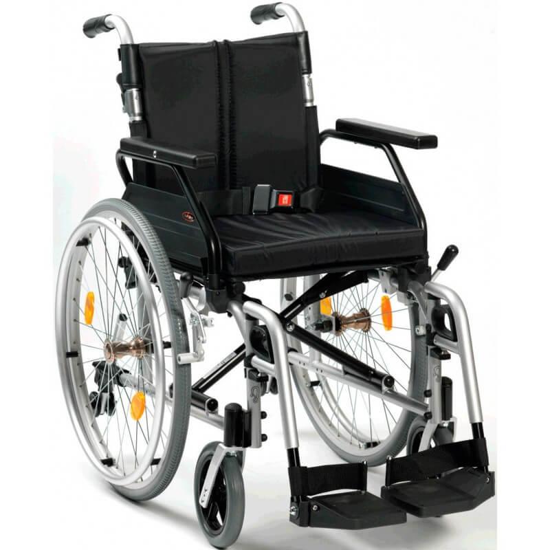 Silla de ruedas autopropulsable Aluminio XS2