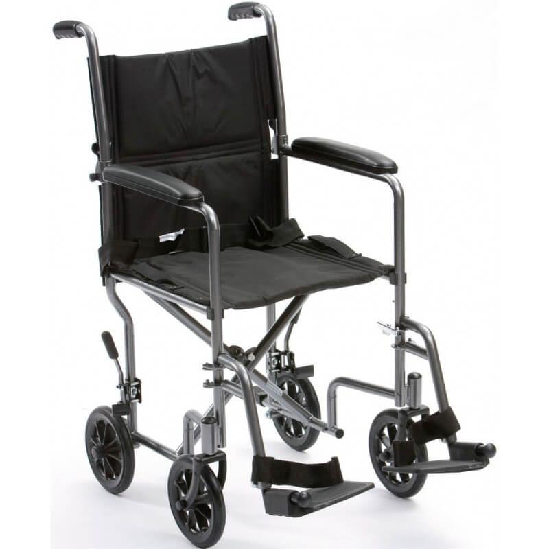 Silla de traslado de acero - Sillas de ruedas de traslado ...