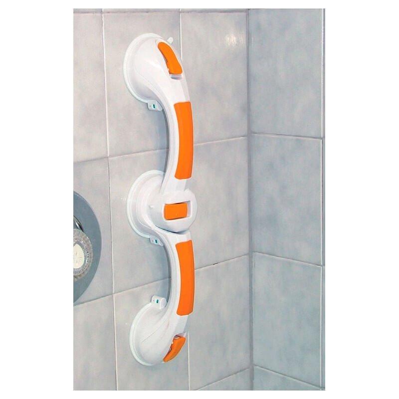 Asidero Dual Rotatorio De 30 cm Con Ventosas e Indicador
