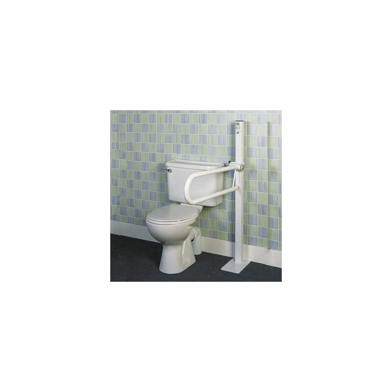 Barra de baño abatible sobre mástil - Ayudas dinámicas