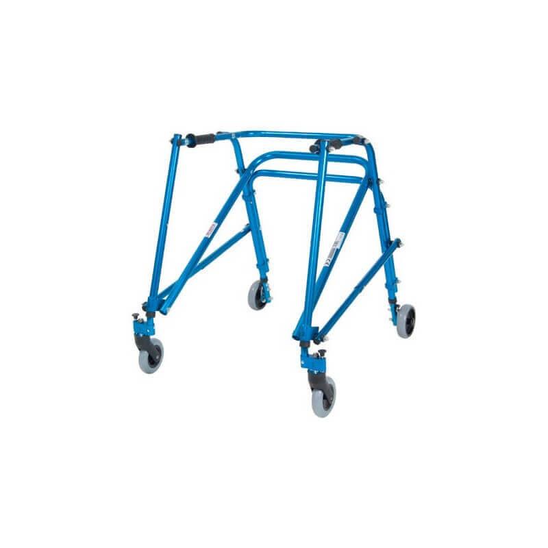 Andador Posterior Nimbo Ultraligero juvenil-adulto Azul Midnight Talla 4 - DRIVE MEDICAL