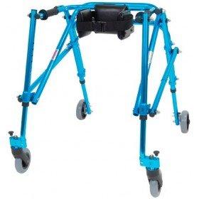 Andador Posterior Nimbo Talla 3 Ultraligero Juvenil - Azul Cornflower - DRIVE MEDICAL