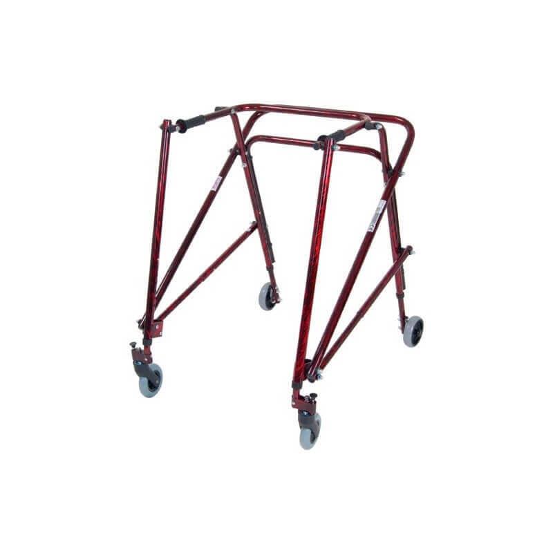 Andador Posterior Nimbo Talla 5 Ultraligero Adulto - Rojo Flame - DRIVE MEDICAL