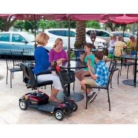 Scooter GO-GO LX de 4 ruedas - Ayudas dinámicas
