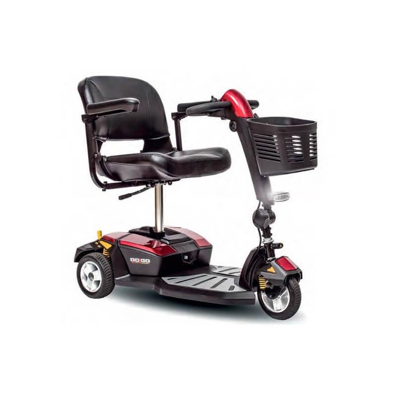 Scooter GO-GO LX de 3 ruedas - PRIDE MOBILITY ESPAÑA