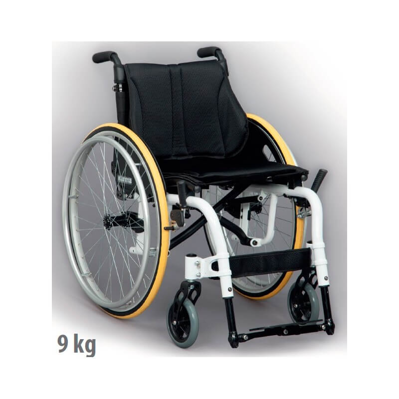 Silla de ruedas Ergo Live - Ayudas dinámicas