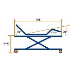 Cama articulada con carro elevador Marina Plus - Tecnimoem