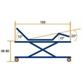 Cama articulada con carro elevador LEZA PLUS - Tecnimoem