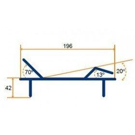 Cama articulada electrónica NULES - Tecnimoem