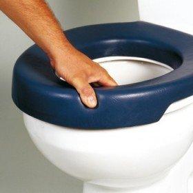 Elevador de WC blando blue - Ayudas dinámicas