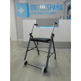 Andador de 2 ruedas plegable - Ortoespaña