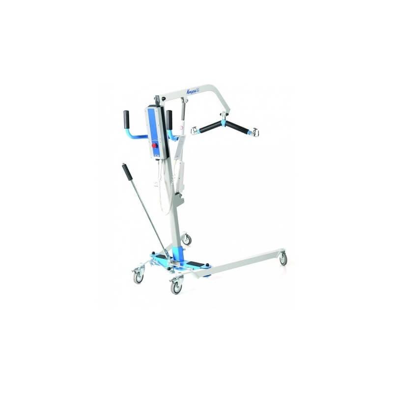 Grua electrica hasta 150 kg con arnes incluido y motor timotion.