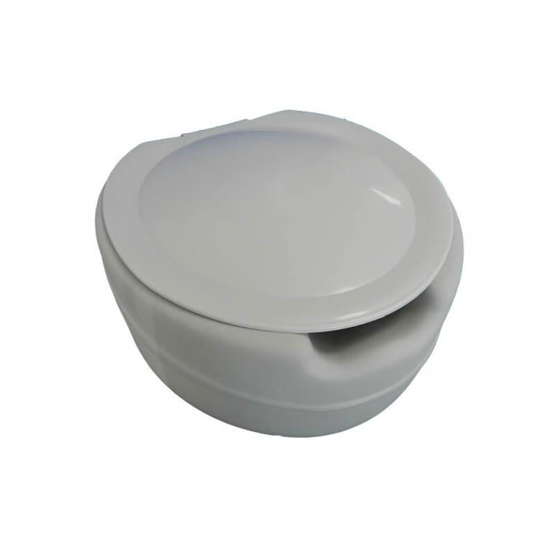 """Elevador WC """"Blando"""" 10cm con tapa"""
