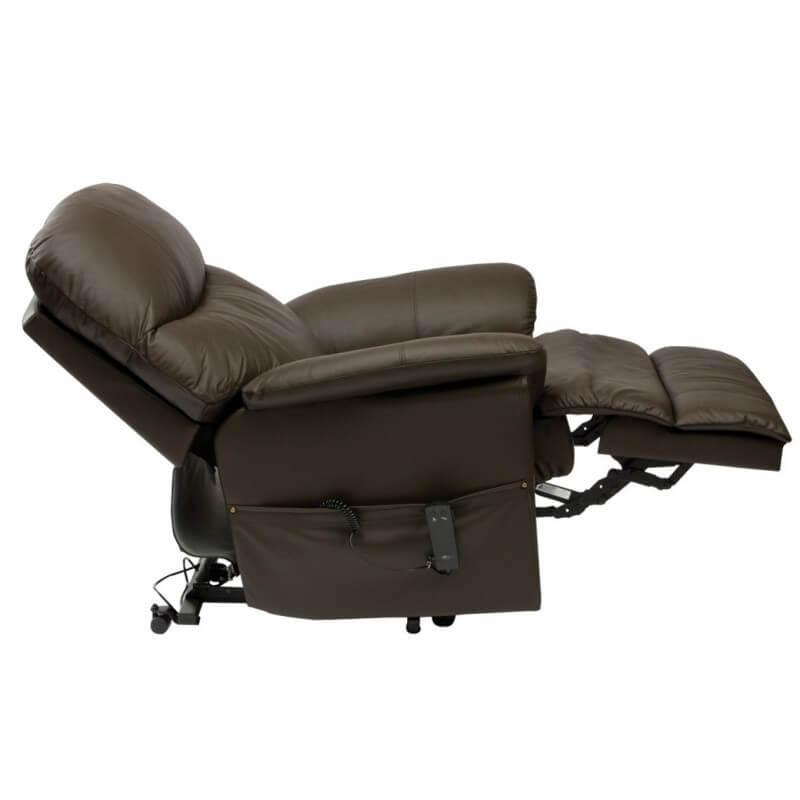 Sillón relax reclinable de Piel