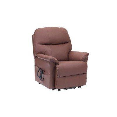 Sill n relax lars reclinable de piel for Sillon relax de piel