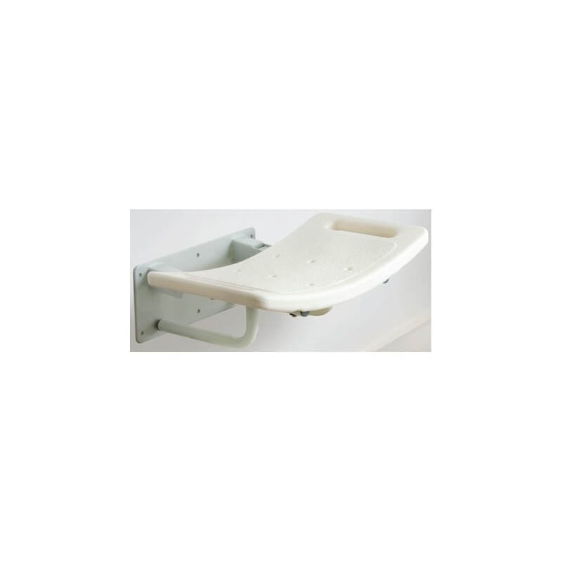 Asiento de ducha abatible para pared