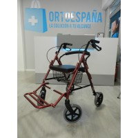 Andador convertible en silla ALL-IN-ONE 4 RUEDAS