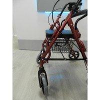 Andador convertible en silla ALL-IN-ONE 4 RUEDAS - TEYDER