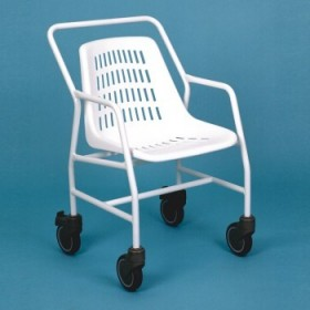 Silla de ducha 'Classic' con ruedas - Ayudas dinámicas
