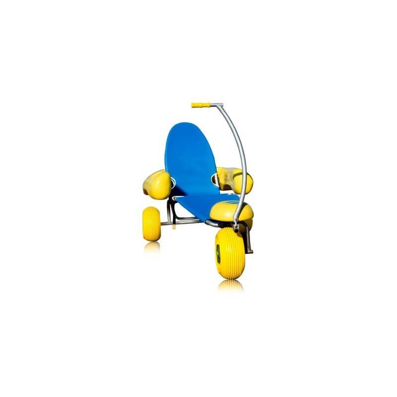 Silla de ruedas anfibia tiralo