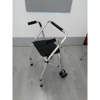 Andador de 2 ruedas plegable con asiento - Ortoespaña