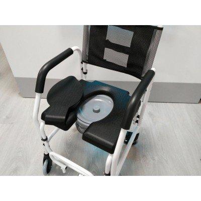 Silla de ruedas con inodoro de aluminio - Silla de ruedas con inodoro ...