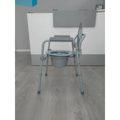 Silla con inodoro regulable en altura - Sillas regulables en altura ...