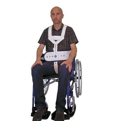 Contención a silla de ruedas