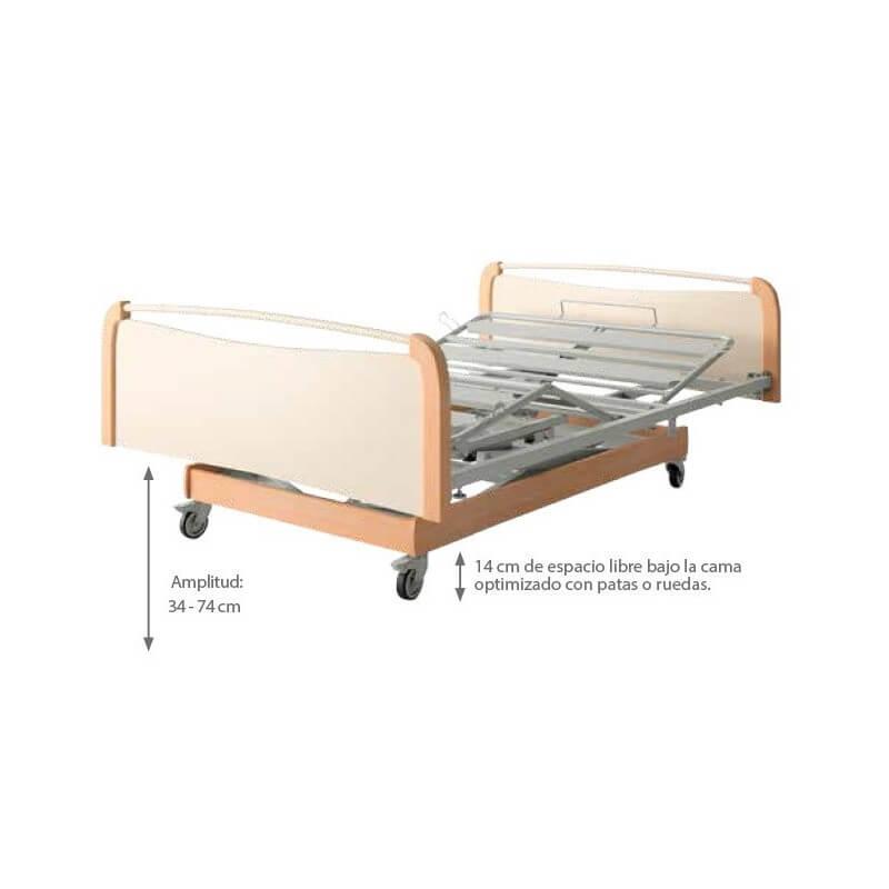 Cama articulada Bariátrica XXL DIVISYS 120cm