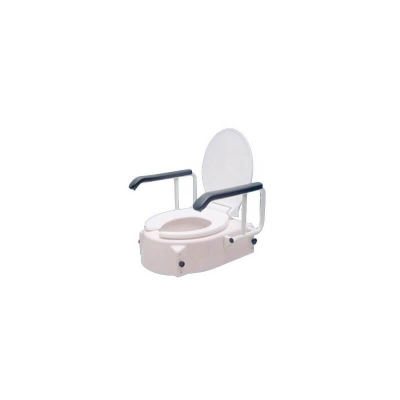 Elevador de WC regulable con brazos - BASTONES GARCÍA 1880