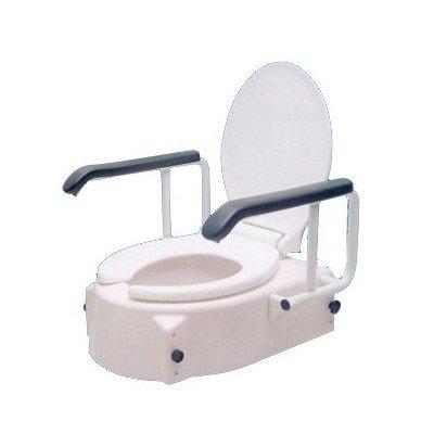 Elevador de WC regulable con brazos