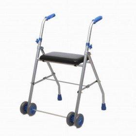 Andador de 2 ruedas de aluminio - Ayudas dinámicas