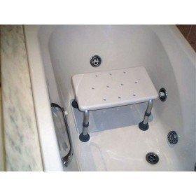 Banqueta para bañera de aluminio -