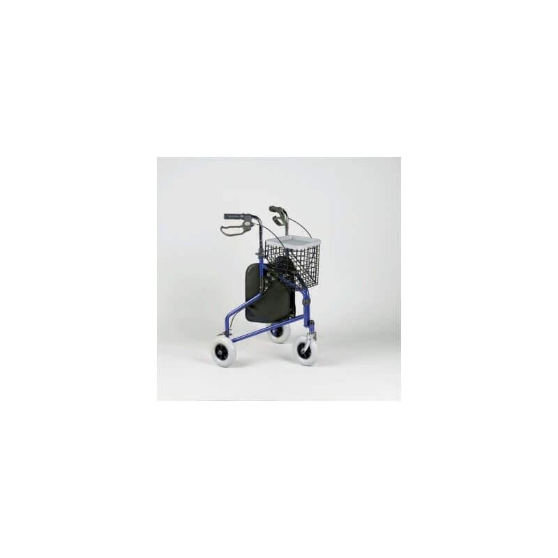 Andador de 3 ruedas  'Delta' - Ayudas dinámicas