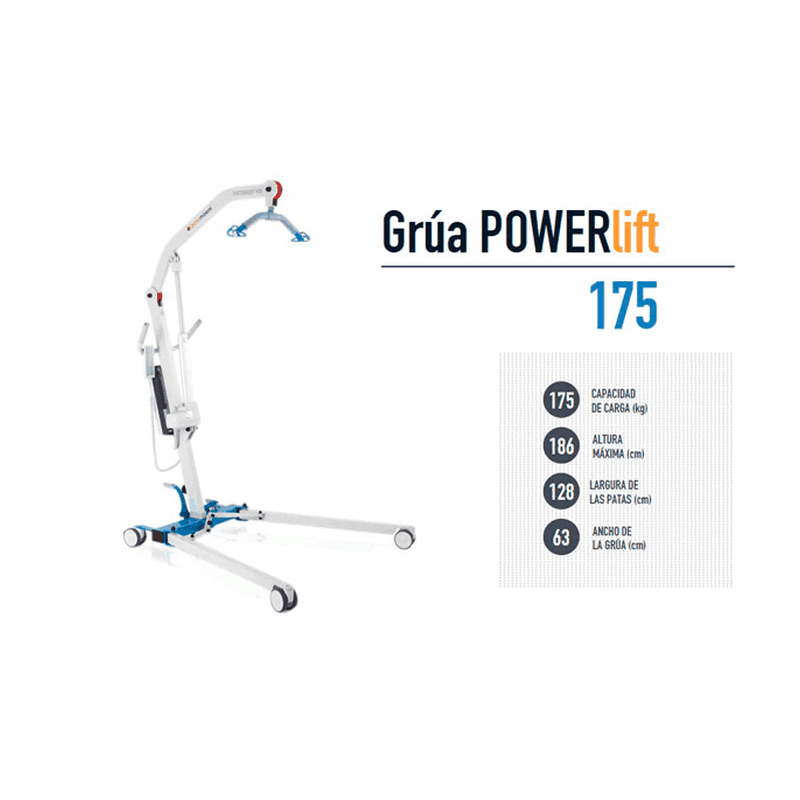 Grúa Powerlift 175 + Arnés