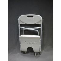 Silla de baño plegable de aluminio - BASTONES GARCÍA 1880