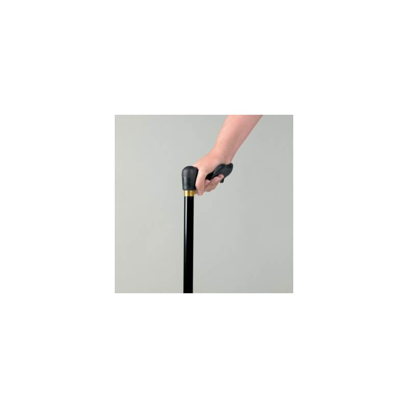 Baston de aluminio de puño anatómico