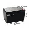 Baterías para silla eléctrica BOX de 15Ah - 12V