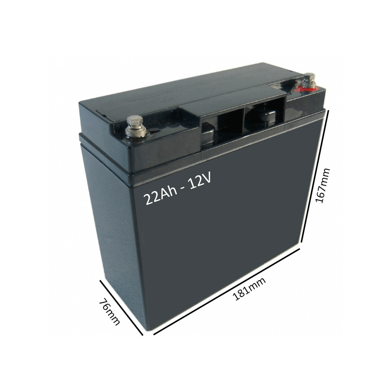 Baterías para Silla de ruedas eléctrica POWER CHAIR SPORT de 22Ah - 12V