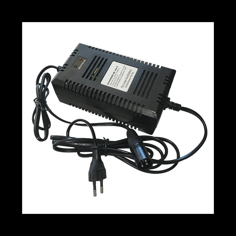 Cargador de baterías para Scooter eléctrico I-CONFORT de 3A - 24V - Ortoespaña