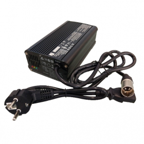 Cargador de baterías para Scooter eléctrico DAKAR DUO de 6A - 24V - Ortoespaña