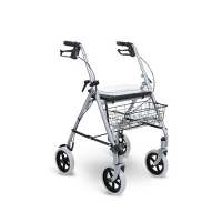 Andador de 4 ruedas con manetas
