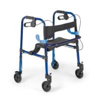 Andador plegable en aluminio con asiento