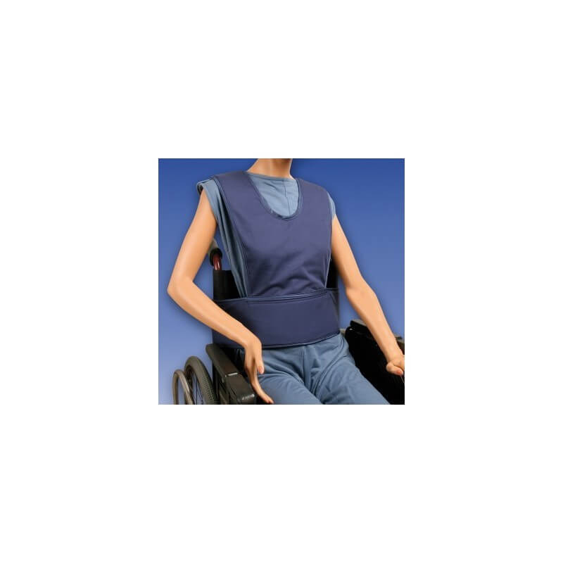 Chaleco abdominal con tirantes - Ayudas dinámicas
