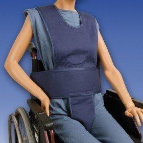 Chaleco abdominal con soporte perineal y tirantes - Ayudas dinámicas