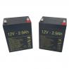 Baterías para Grúa eléctrica Vertic 2 de 2.9Ah - 12V