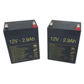 Baterías para Grúa eléctrica POWERLIFT UP de 2.9Ah - 12V - Ortoespaña