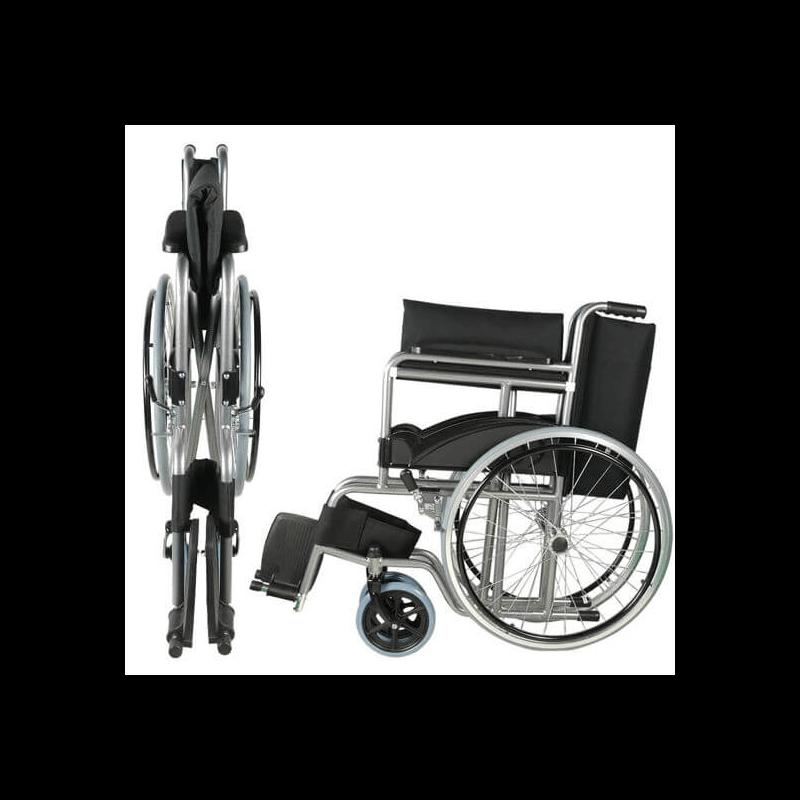 Sillas de ruedas plegables de acero ortoespa a 21 productos - Sillas de ruedas estrechas ...